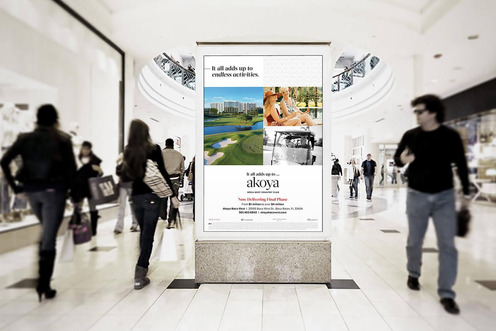 Akoya Mall Poster